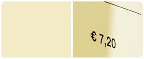 Beige-Braun gesprenkeltes Feinstpapier