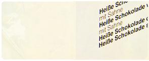 Gelb farbiges geripptes Papier mit  Wasserzeichen