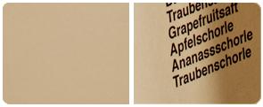 Mattes, Coffee farbiges Papier